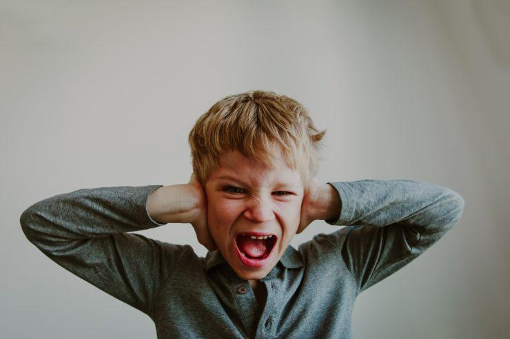angry, shouting kid