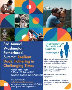 3rd Annual Washington Fatherhood Summit @ online