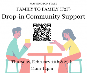 Family to Family Drop-in Community Support @ online